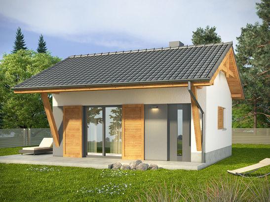 Projekt domu Domek 5 - widok 2