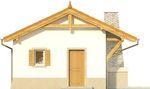 Projekt domu Domek 6 - elewacja przednia