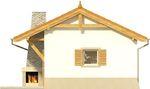 Projekt domu Domek 6 - elewacja tylna