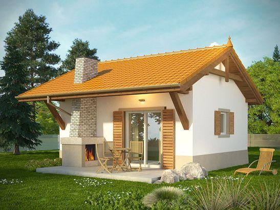 Projekt domu Domek 6 - widok 1