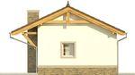 Projekt domu Domek 7 - elewacja boczna 1