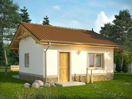 Projekt domu Domek 7 - widok 1