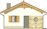 Projekt domu Domek 9 - elewacja przednia