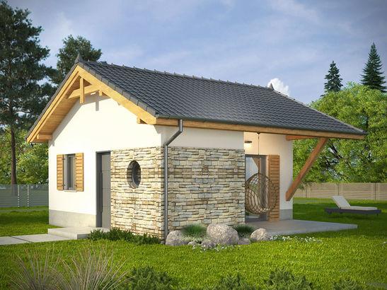 Projekt domu Domek 9 - widok 2