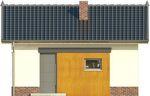 Projekt domu Domek 10 - elewacja przednia