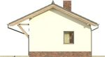 Projekt domu Domek 10 - elewacja boczna 1
