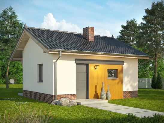 Projekt domu Domek 10 - widok 2