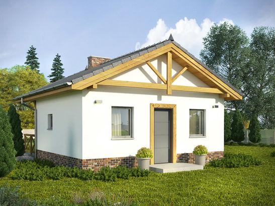 Projekt domu Domek 11 - widok 2