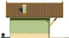 Projekt domu Domek 12 - elewacja boczna 2