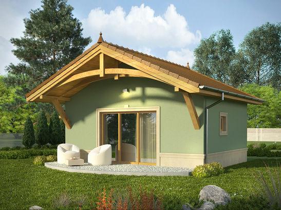 Projekt domu Domek 12 - widok 1