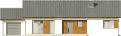 Projekt domu Avatar - elewacja przednia