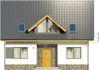 Projekt domu Tetris 2 - elewacja przednia