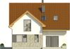 Projekt domu Riva - elewacja przednia
