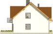 Projekt domu Riva - elewacja boczna 1