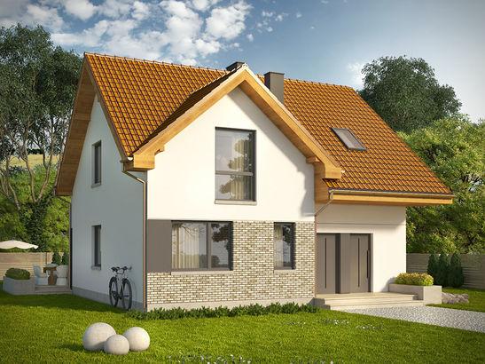 Projekt domu Riva - widok 2
