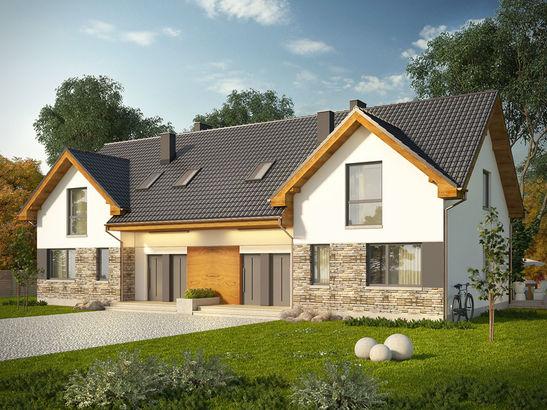 Projekt domu Riva 2 - widok 2
