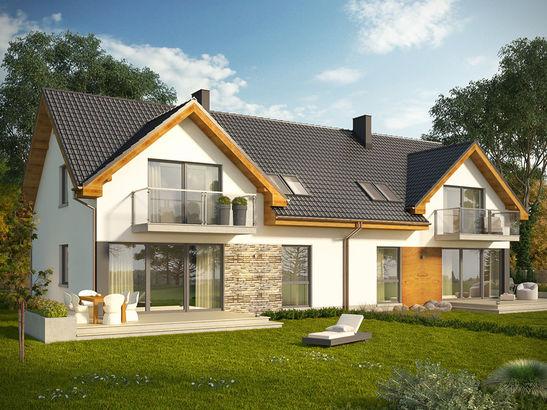 Projekt domu Riva 2 - widok 3