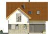 Projekt domu Riwiera - elewacja przednia