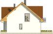 Projekt domu Riwiera - elewacja boczna 2