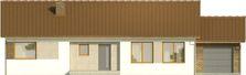 Projekt domu Nino - elewacja przednia