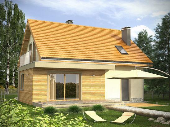 Projekt domu Murano - widok 2