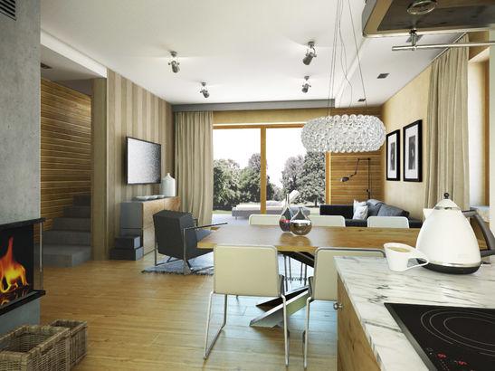 Projekt domu Murano - widok 3