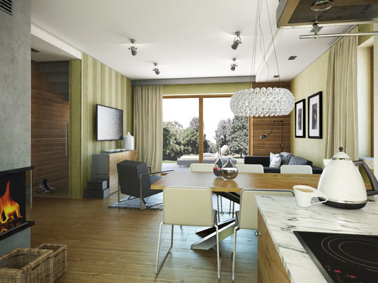 Projekt domu Verso - widok 3