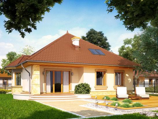 Projekt domu Impresja P - widok 3