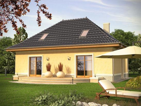 Projekt domu Intencja - widok 2
