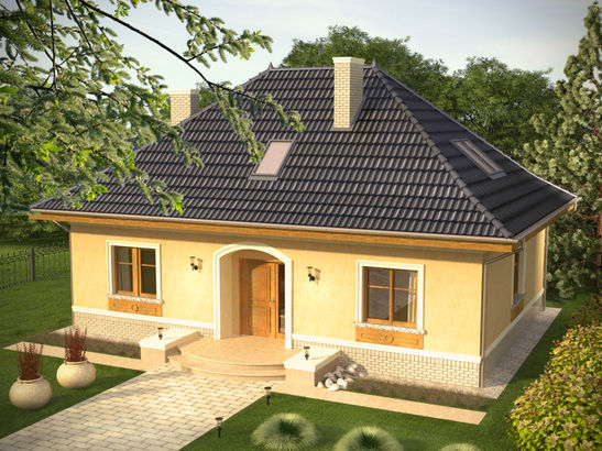 Projekt domu Intencja - widok 3