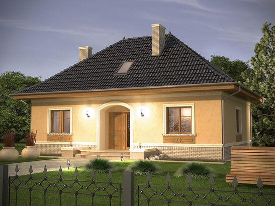 Projekt domu Intencja - widok 4
