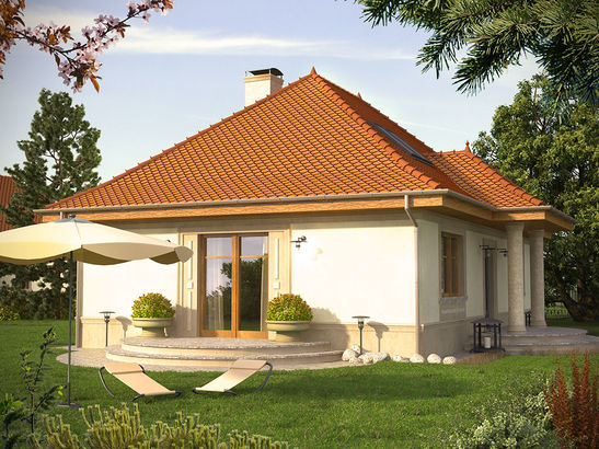 Projekt domu Katalonia - widok 2