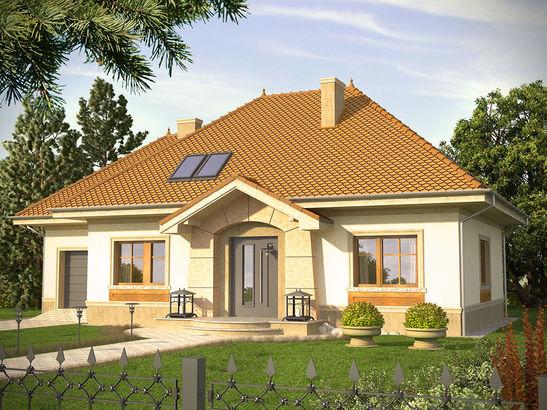 Projekt domu Belcanto - widok 1