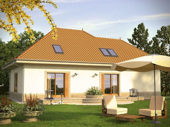 Projekt domu Belcanto - widok 2