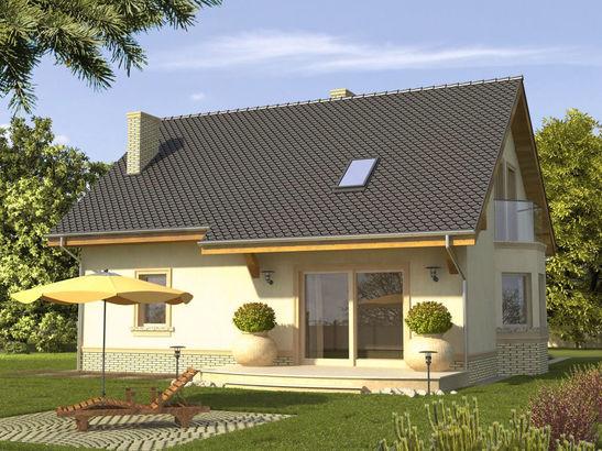 Projekt domu Impuls - widok 2