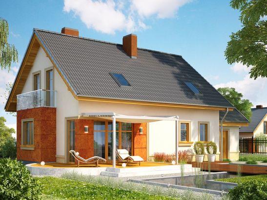 Projekt domu Enklawa - widok 2