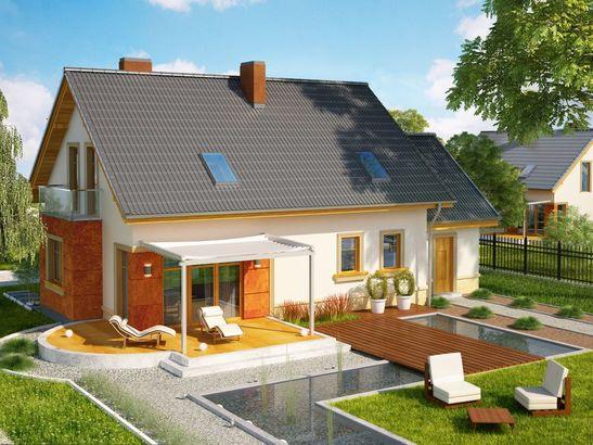 Projekt domu Enklawa - widok 3