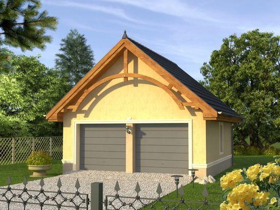 Projekt domu Garaż 1 - widok 1