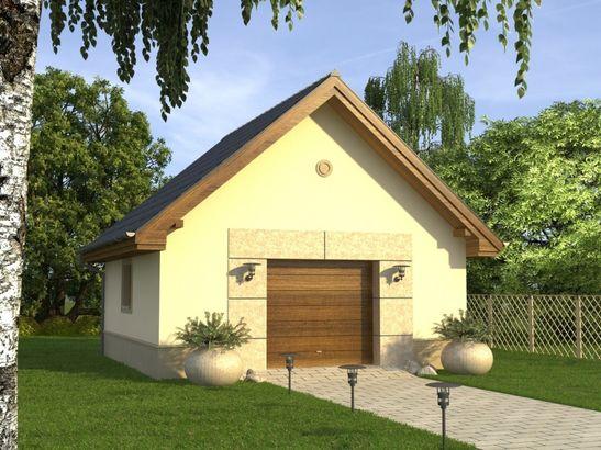 Projekt domu Garaż 2 - widok 1