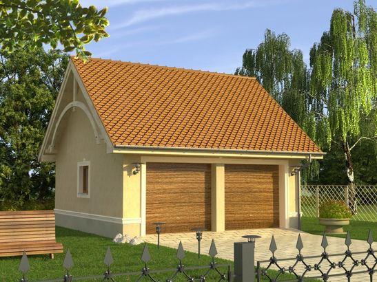Projekt domu Garaż 7 - widok 1