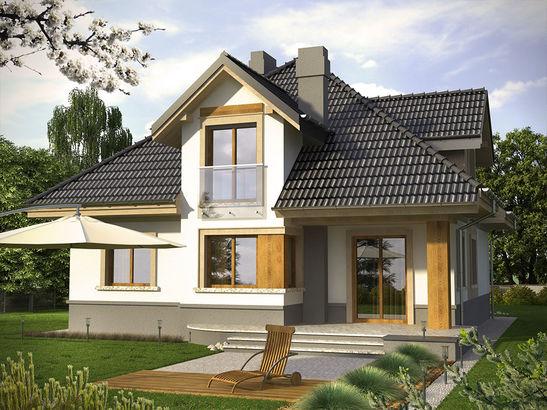 Projekt domu Alassio - widok 2