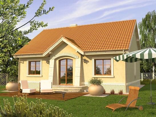 Projekt domu Jaspis P - widok 2