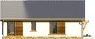 Projekt domu Bahama - elewacja boczna 2