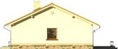 Projekt domu Bossanova - elewacja boczna 2