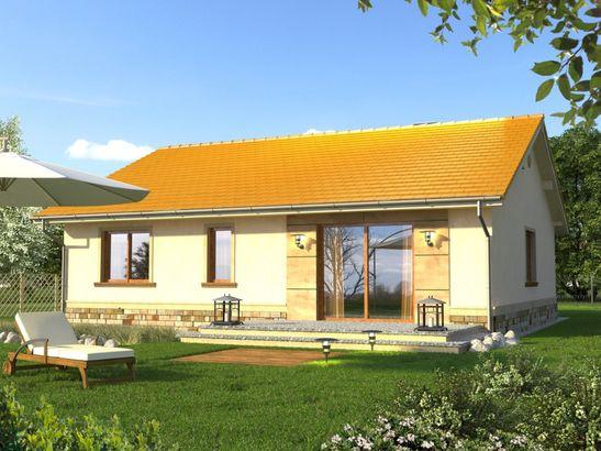 Projekt domu Bossanova - widok 2