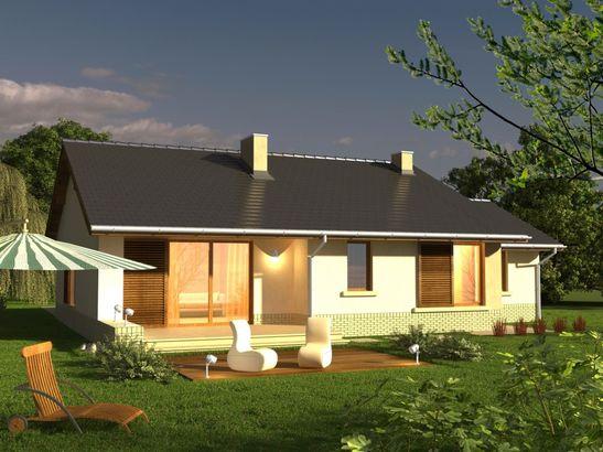Projekt domu Flamenco - widok 3