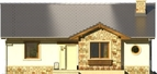 Projekt domu Limeryk - elewacja przednia