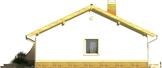 Projekt domu Limonka - elewacja boczna 2