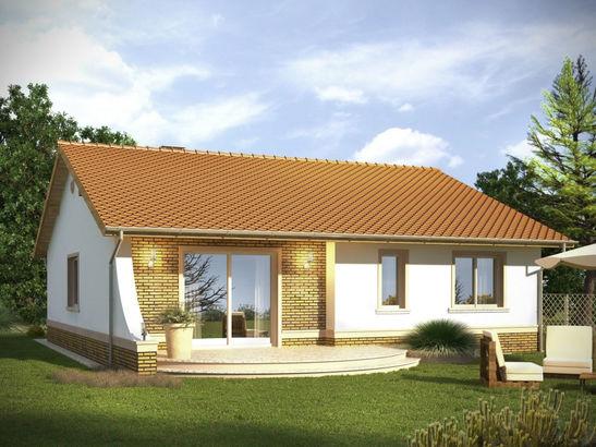 Projekt domu Limonka - widok 2