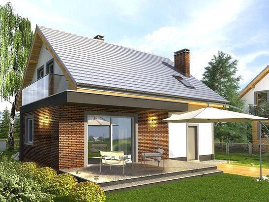 Projekt domu Murano S - widok 2